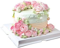 學習裝飾蛋糕 自行設計揮灑創意