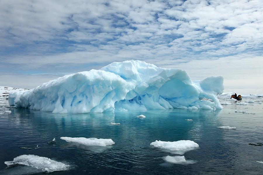 南極洲。(資料圖片)