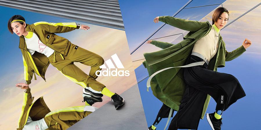adidas運動時尚融合科技與街頭風格