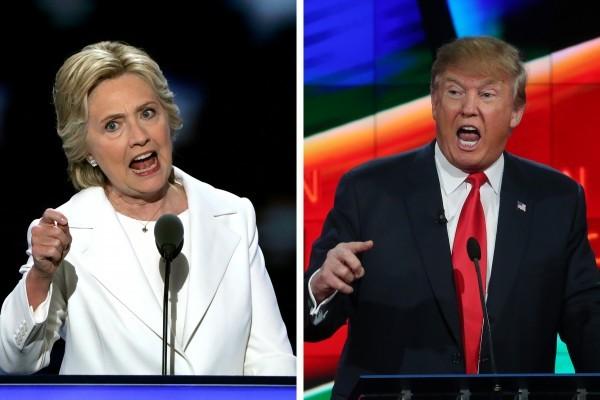 根據最新的CNN/ORC關鍵州民調,特朗普和希拉莉在北卡羅來納州難分軒輊,特朗普在亞利桑那州領先希拉莉5%。(File photo, Alex Wong/Justin Sullivan/Getty Images)