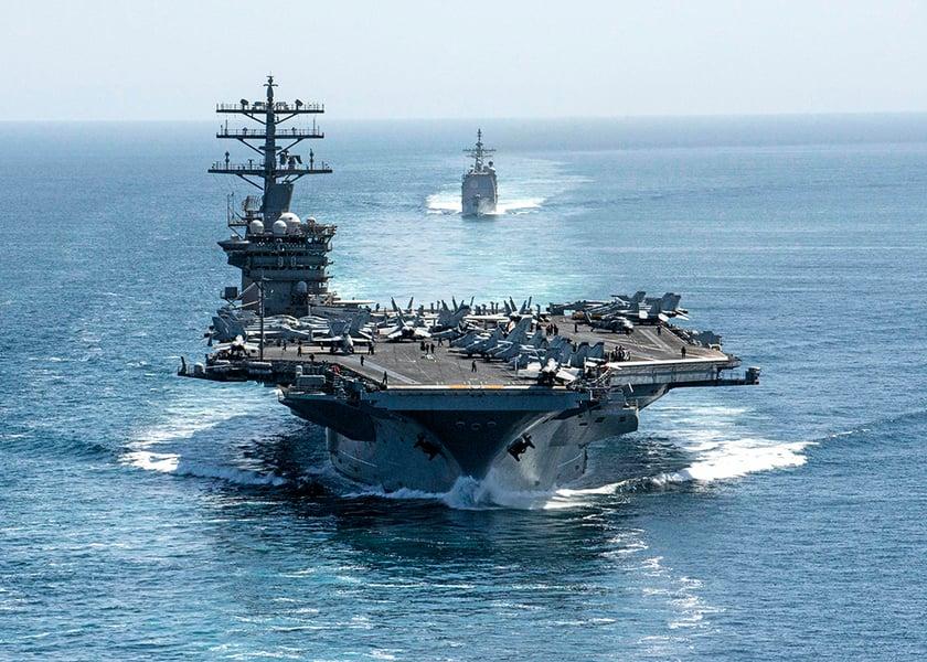 對抗中共 美尼米茲號航母轉戰印太