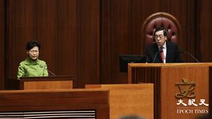 【圖片新聞】行政長官答問會 港府將就五大政策提條例草案