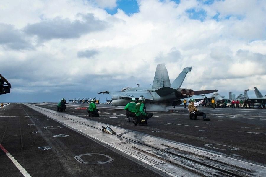 三航母齊聚印太 美戰略司令:中俄或對美發動核戰