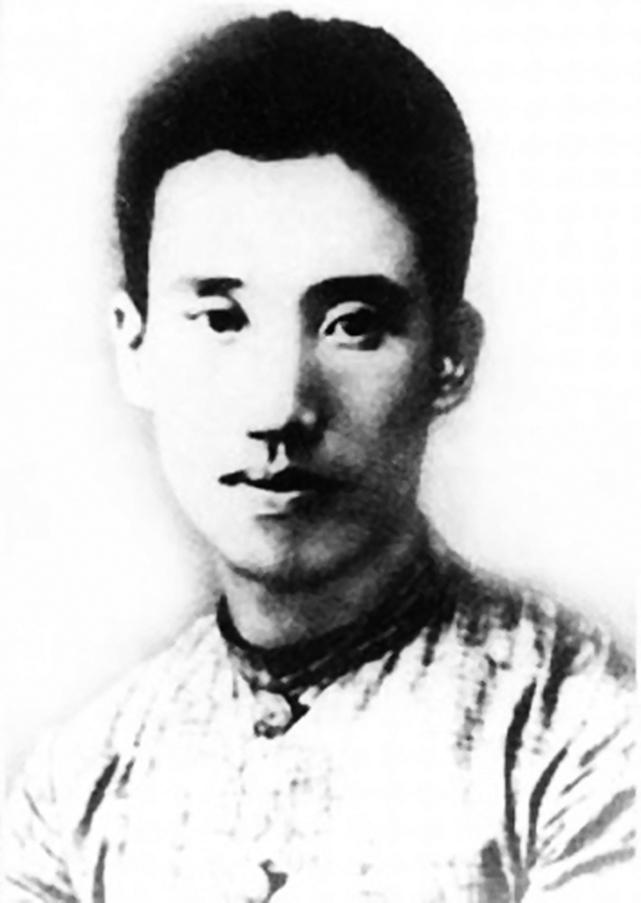 民國時期中國農民運動的領導人,被毛澤東稱為中國「農民運動大王」的彭湃。(維基百科)