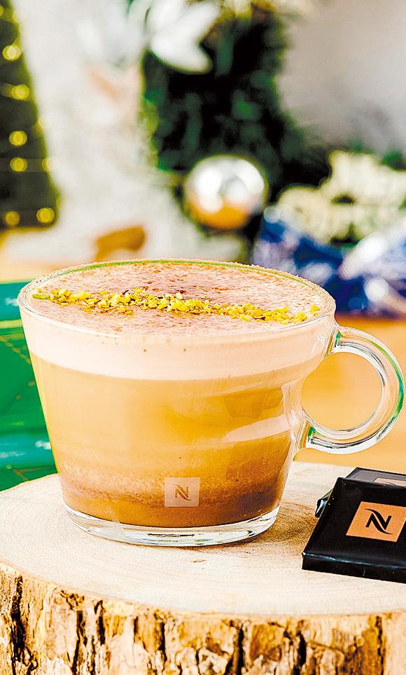 使用意式榛果蛋糕風味咖啡打造,為味蕾帶來豐富層次。