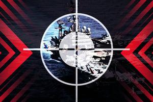 【時事軍事】美航母遭模擬攻擊 共軍練英語喊「投降吧」