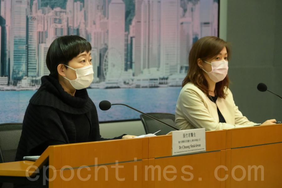 截至5日凌晨零時,本港新增37宗中共病毒(武漢肺炎)確診個案,累計增至10,590宗個案。(郭威利/大紀元)