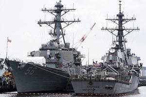 美軍艦穿台海闖西沙 前高官籲拜登對中共以戰止戰