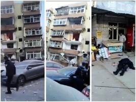 河北唐山燃氣爆炸 兩棟居民樓重創 傷亡不明