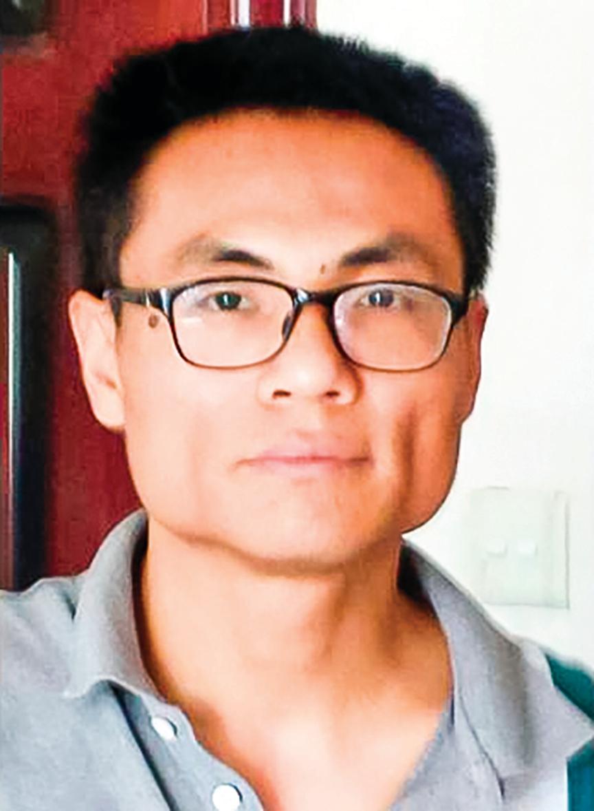 上海律師彭永和。(受訪者提供)