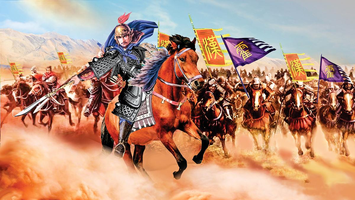 在戰場上初露崢嶸的霍去病,成為漢武帝心中最佳的將帥人選。(大紀元製圖)