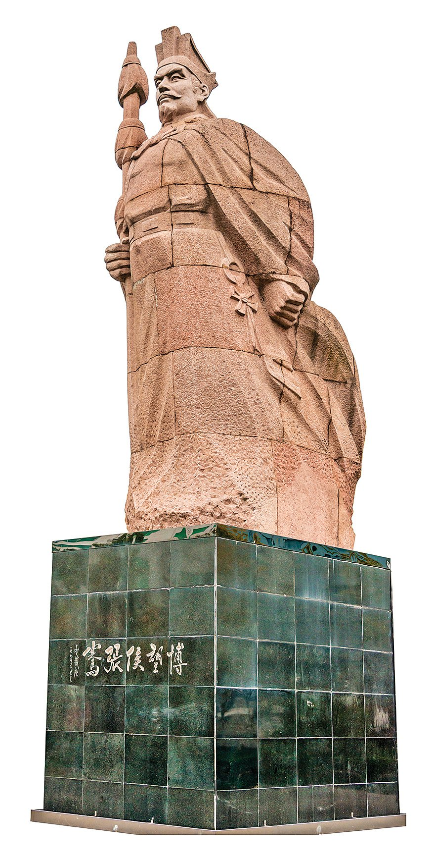 位於中國山西的張騫雕像。(Shutterstock)