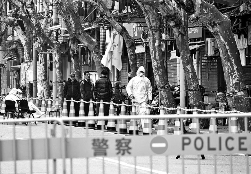 上海疫情擴散 浦東新區「淪陷」