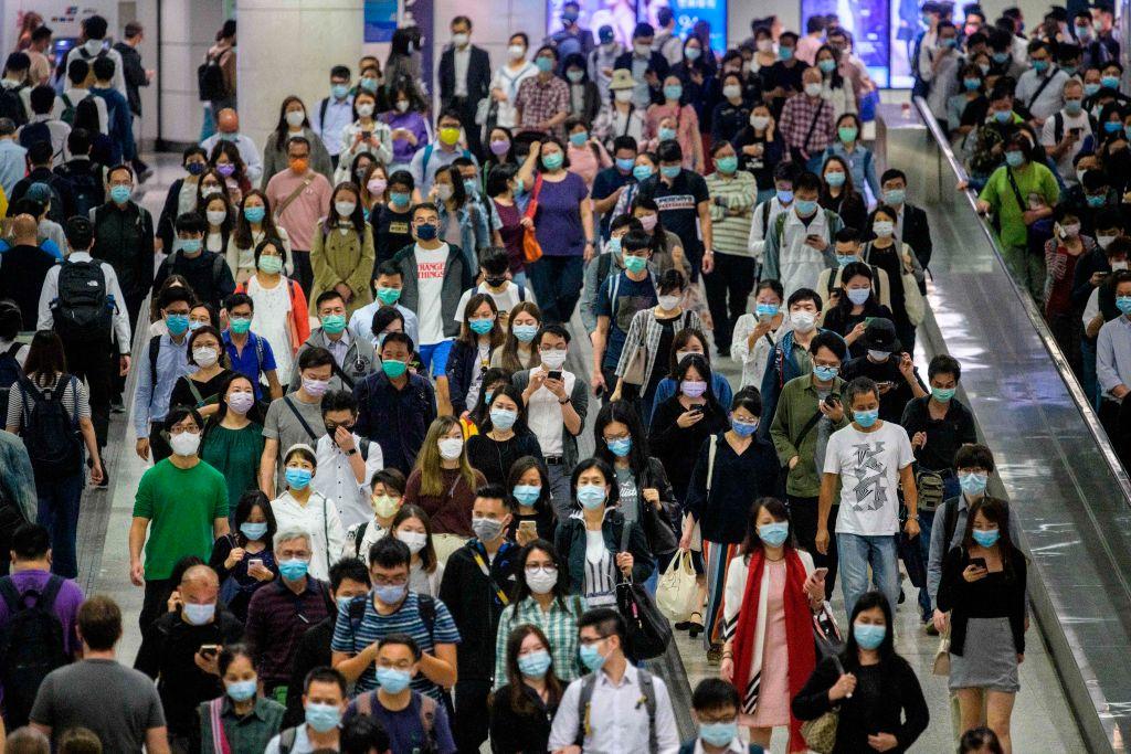 香港積金局今天(2月8日)公佈截止12月底,強積金的總資產值大約是 1.14兆港元,2020年年度錄得淨回報11.7%。(ANTHONY WALLACE/AFP via Getty Images)