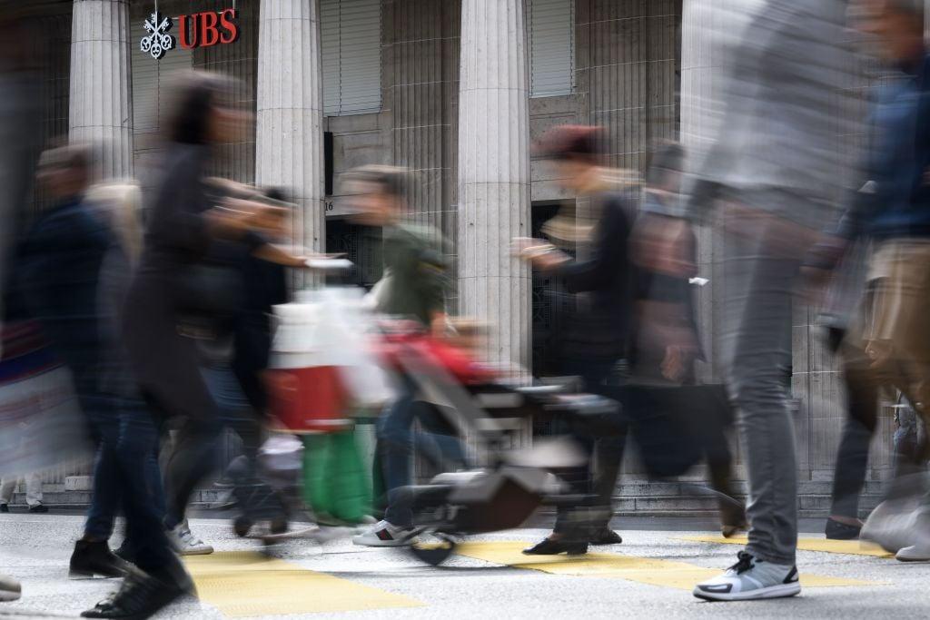 瑞士今天(2月8日)公佈最新失業率數字,1月份錄得3.7%,乃自2010年4月以來高位。(FABRICE COFFRINI/AFP via Getty Images)