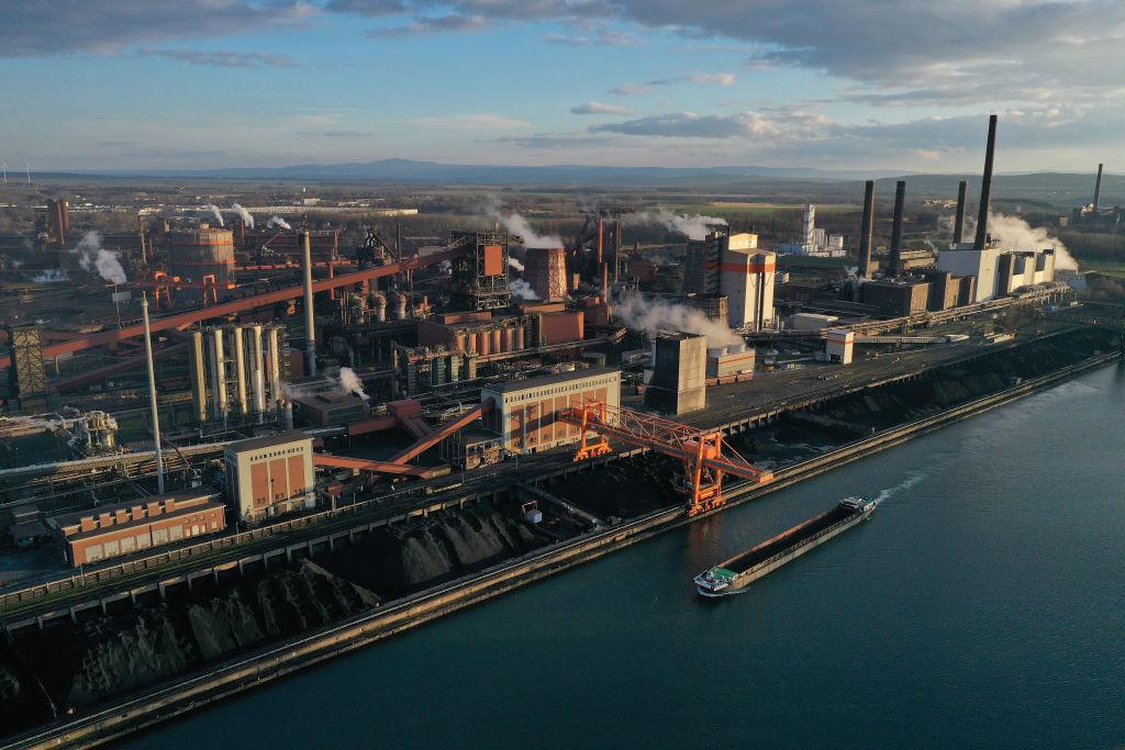德國今天(2月8日)公佈最新工業生產數字,12月份意外錄得零變化。(Sean Gallup/Getty Images)
