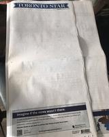 加拿大多家報紙頭版空白 抗議面書和谷歌
