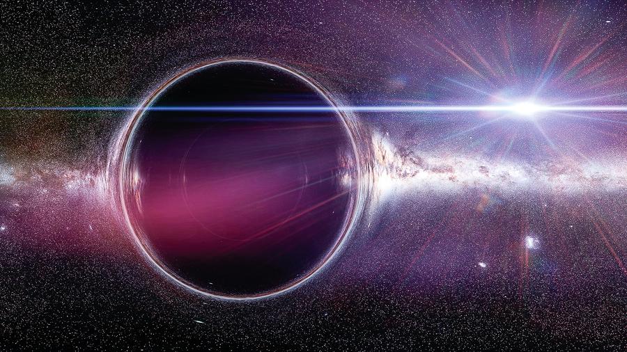 宇宙中或有星系大小黑洞