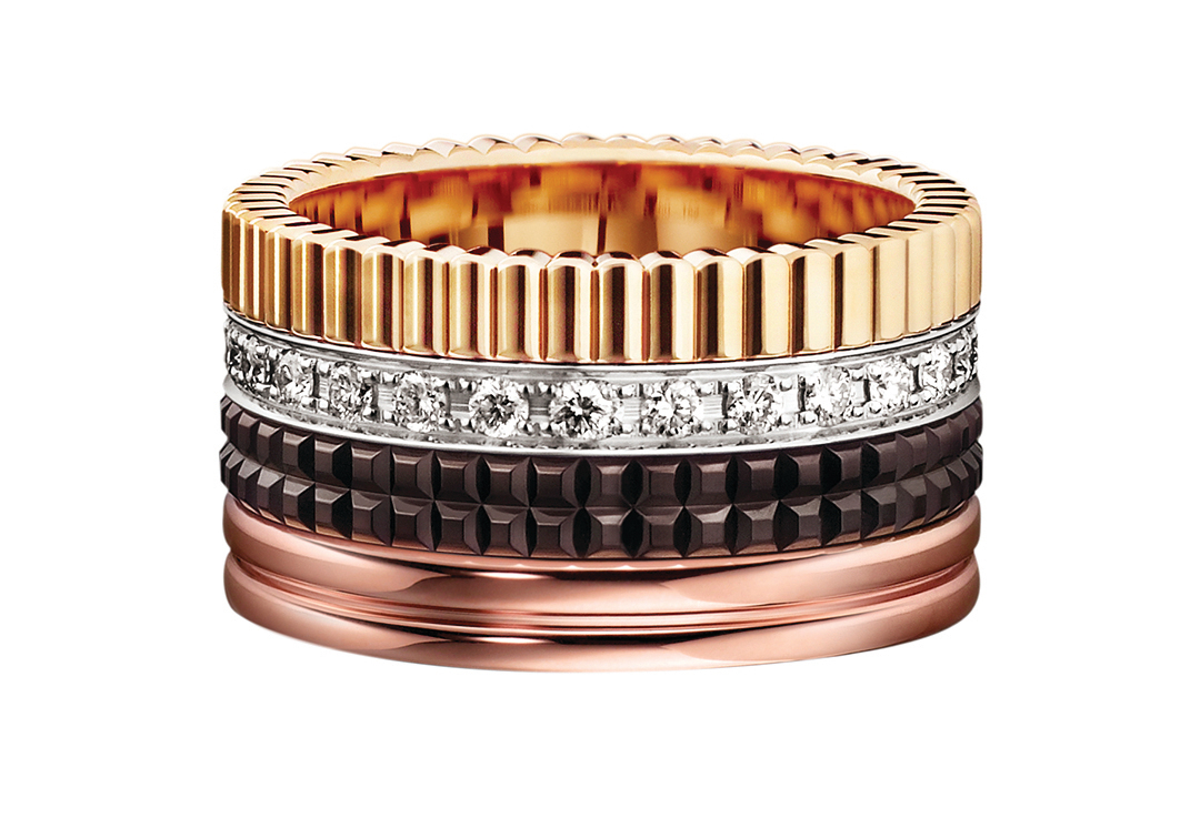 BOUCHERON推出Quartre系列指環。