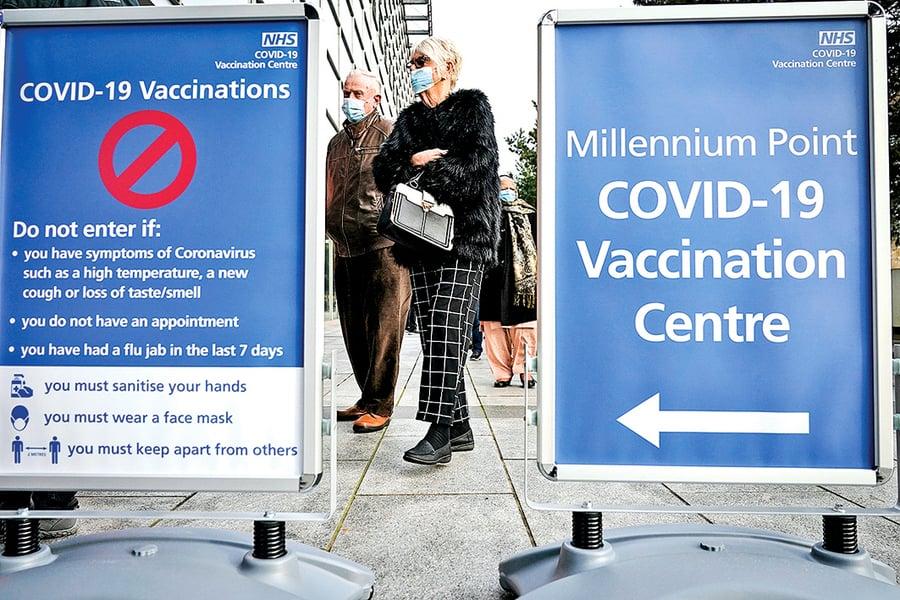 英官員:疫苗或許定期接種