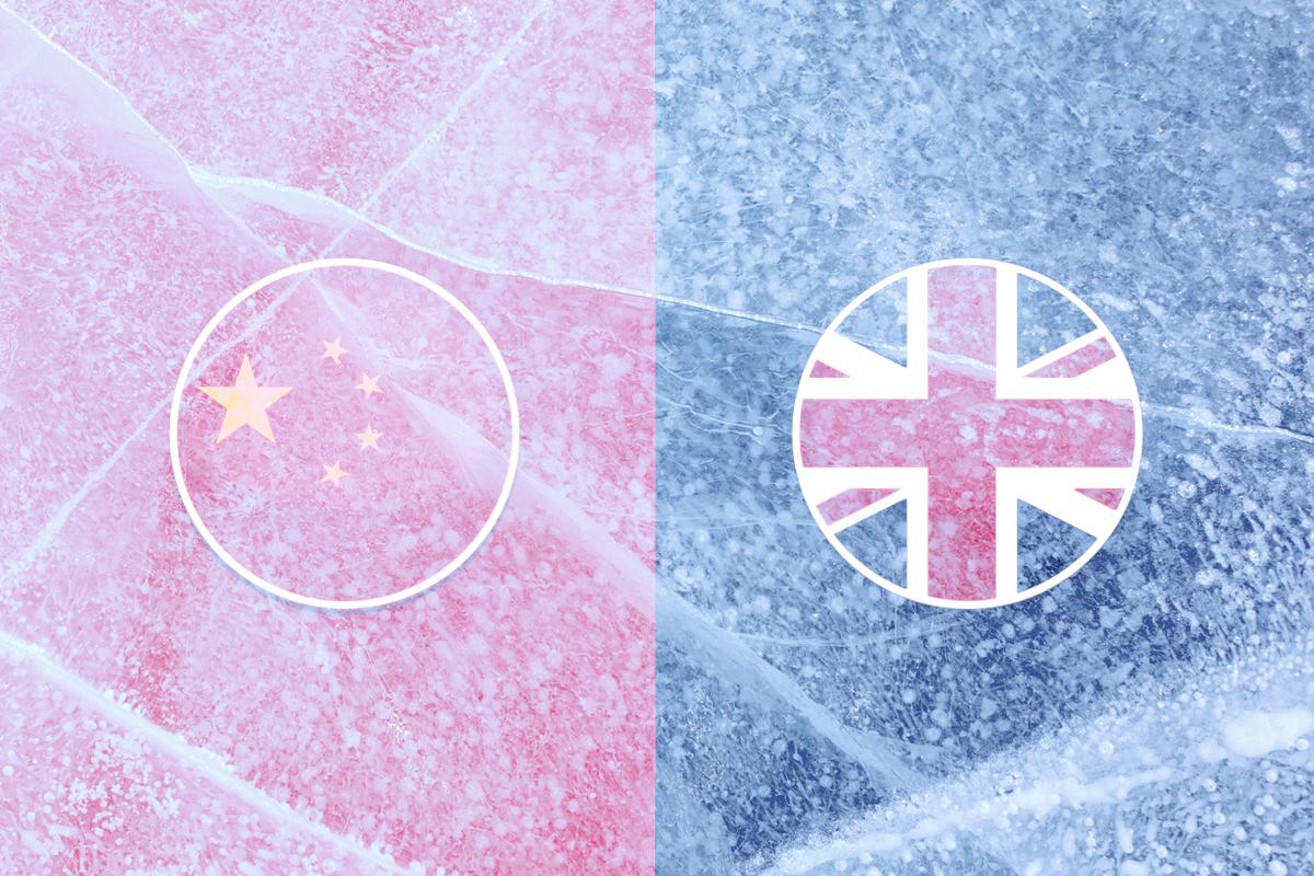 BNO護照的簽證新規,導致中英關係進一步惡化,但近年來中英經濟聯繫密切,是否會動搖約翰遜政府的未來決策?(大紀元製圖)