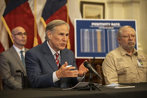 繼佛州之後,德州將立法阻科技巨頭言論審查。圖為德州州長阿博特(Greg Abbott)。 (BRENDAN SMIALOWSKI,KIMIHIRO HOSHINO/AFP)