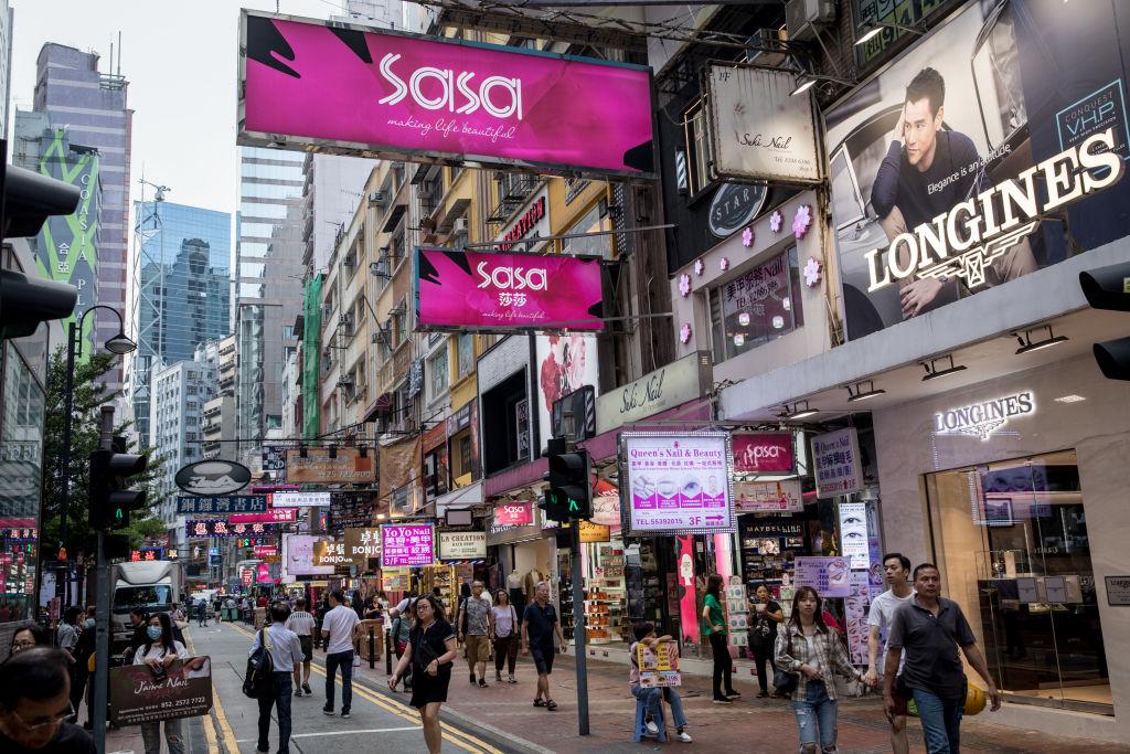 羅兵咸永道預測,香港2021年零售總額有望升15%,達3,760億港元。(Chris McGrath/Getty Images)