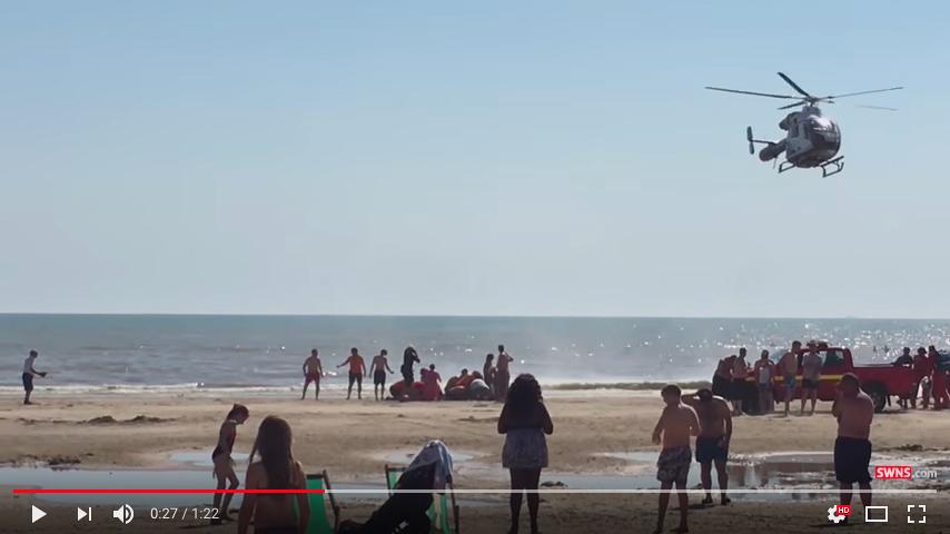 英國熱門海灘發生意外 一天內5人離奇死亡