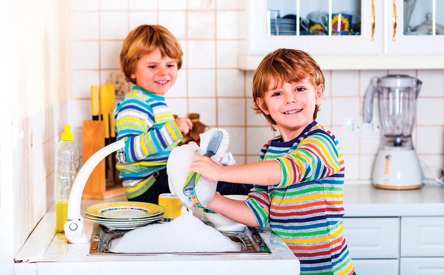 育兒錦囊: 教導孩子做家事不再是苦差事