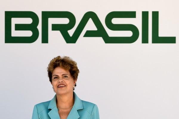 巴西女總統迪爾瑪・羅塞夫(Dilma Rousseff)面臨被彈劾挑戰。(Buda Mendes/Getty Images)