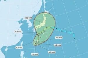 颱風獅子山恐變強颱 明後天將迫近台灣