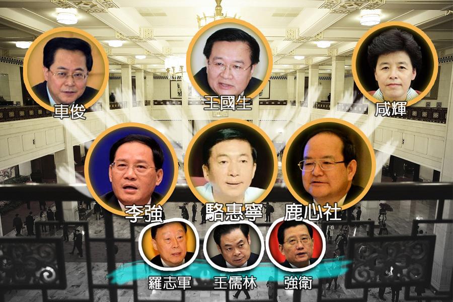 「十九大」前六省大員卡位戰 擠走三江派要員