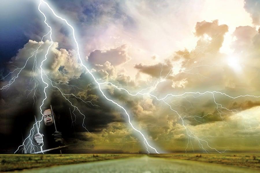神目如電 是善是惡 上天看得最清