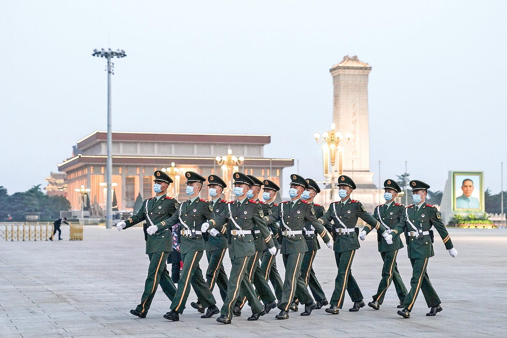 新的一年裏,中共內部「反習」勢力會坐以待斃嗎?2020年未遂的政變,焉知2021年不再發生?北京政圈正山雨欲來。(Feng Li/Getty Images)