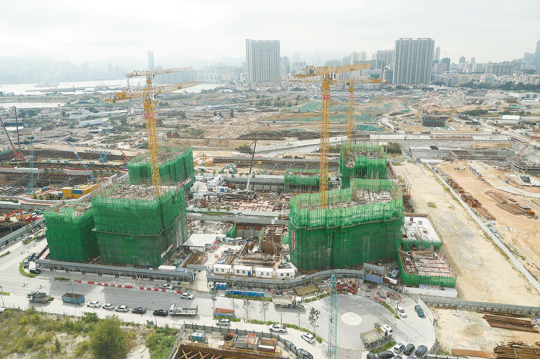 首個港人港地項目「啟德1號」公佈價單,單位呎價介乎15,080元至18,418元。平均售價約979.7萬元。(大紀元資料圖片)