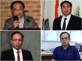 海外華裔學者恭祝法輪功團體和李大師過年好