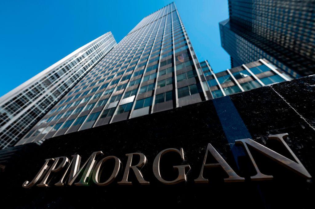 摩通聯席總裁平托表示總有一天將會提供比特幣服務,而該行CEO戴蒙卻稱「這不是我所喜好的(not my cup of tea)」。(JOHANNES EISELE/AFP via Getty Images)
