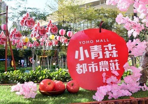 元朗Yoho Mall推出「小青森—都市農莊」。(YOHO MALL官方網頁)