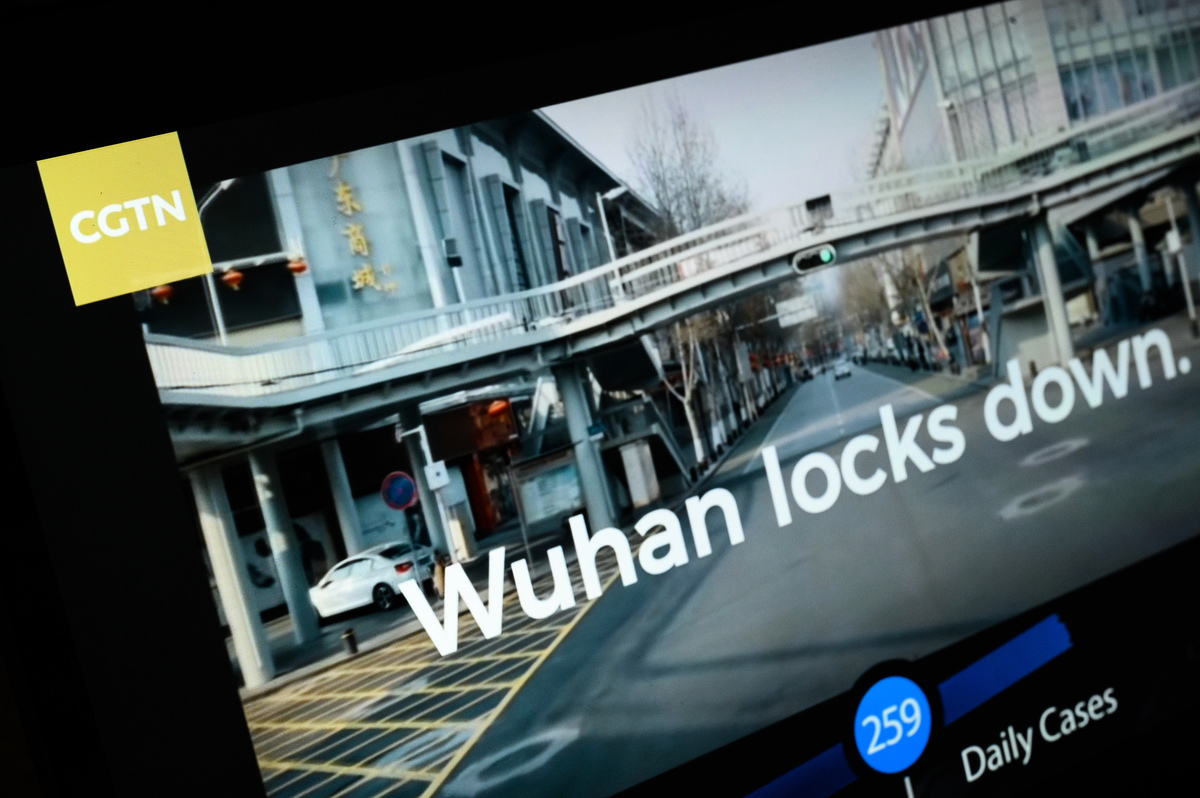 英國通訊管理局(Ofcom)2月4日吊銷了中國國際電視台(CGTN)執照,稱持有執照的公司對該頻道並無控制權,這違反了規定。(Photo by Leon Neal/Getty Images)