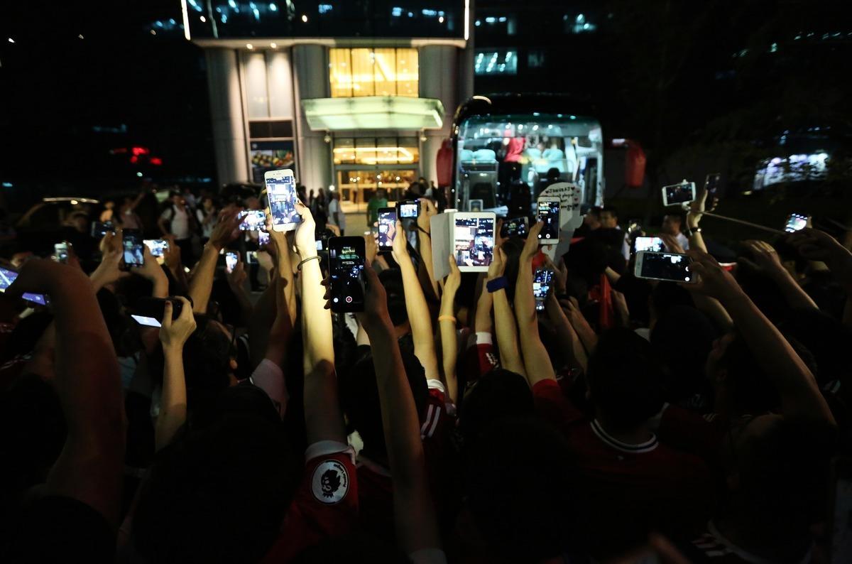 中國現在是世界上第二大經濟體,並擁有迄今為止最多的互聯網用戶,有超過9億人。(STR/AFP via Getty Images)
