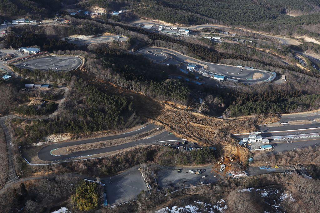 日本昨天(2月13日)發生7.3級大地震,震央在福島縣。(日本氣象廳)
