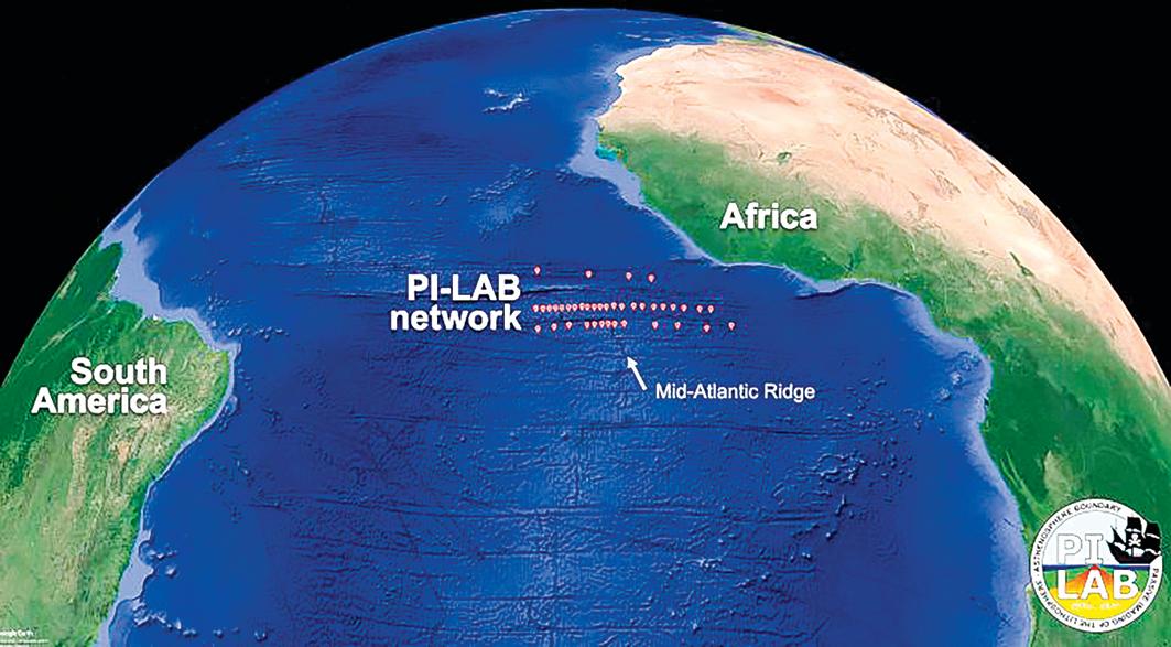 地幔對流導致美洲和歐洲越隔越遠