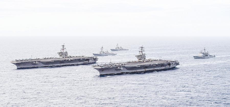 中美在西太平洋軍事衝突 或難避免