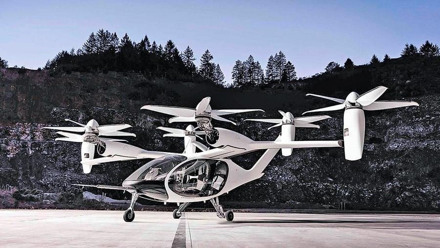 矽谷eVTOL初創公司受青睞 聯合航空美國空軍都追捧