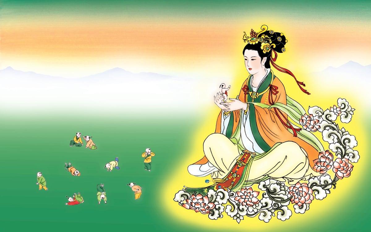 華夏民族傳說,女媧在第七天根據自己的形象用泥土造了人。(Angie/大紀元)