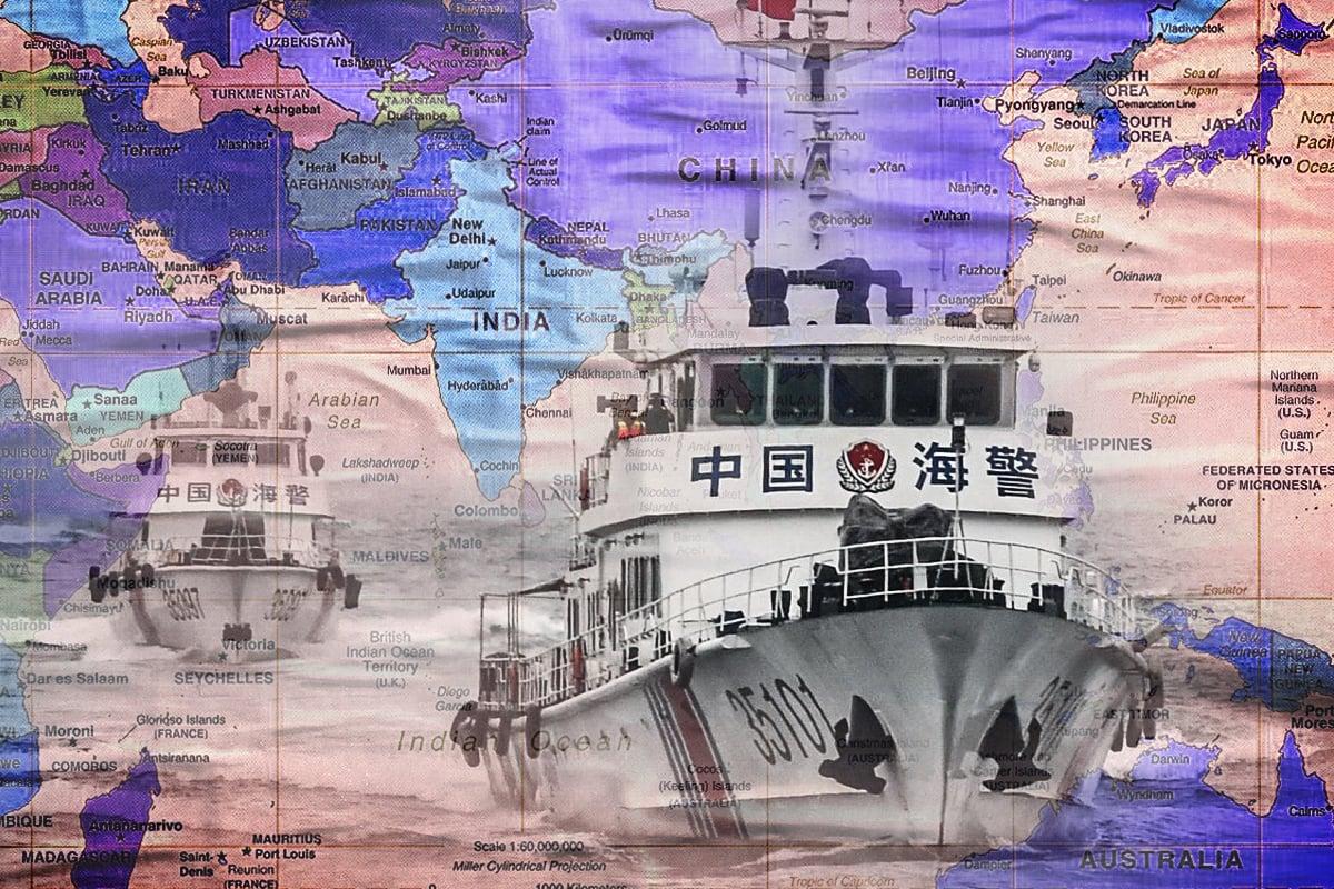 2月3日,日英兩國外長會晤,對中共《海岸警衛隊法》表強烈關注;深化日英合作,確保多國共同推動的「自由開放的印太 」願景,對抗中國;德計劃重返印太。(大紀元製圖)