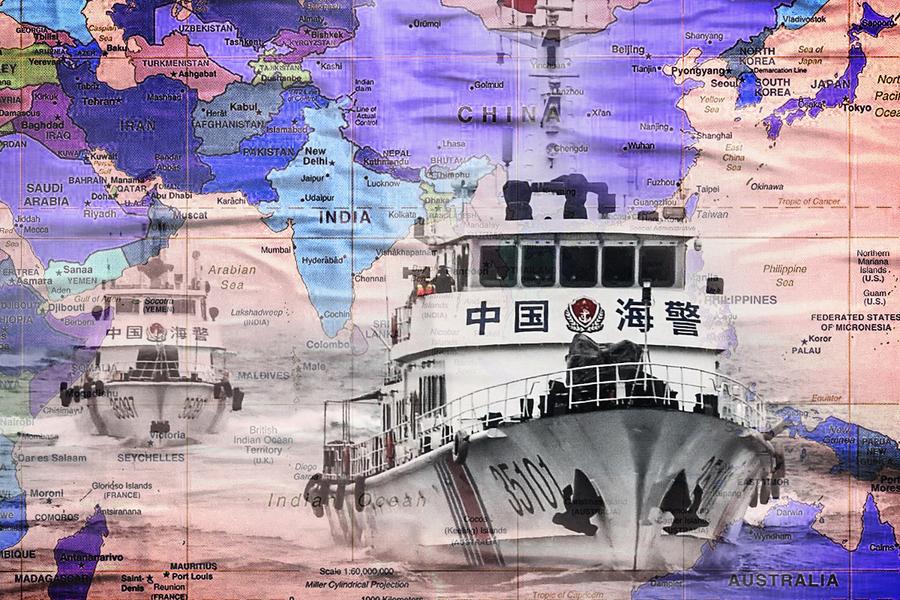 日英關注中共海警法 英法德重返印太