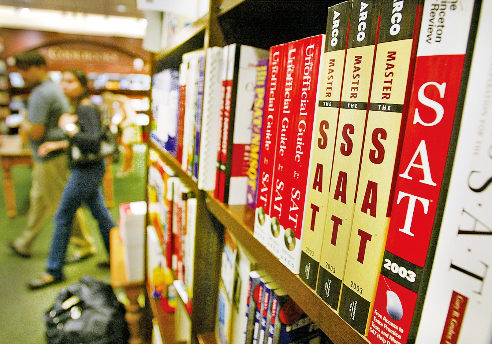 美國更多名校決定入學不參考SAT和ACT成績單。(Getty Images)