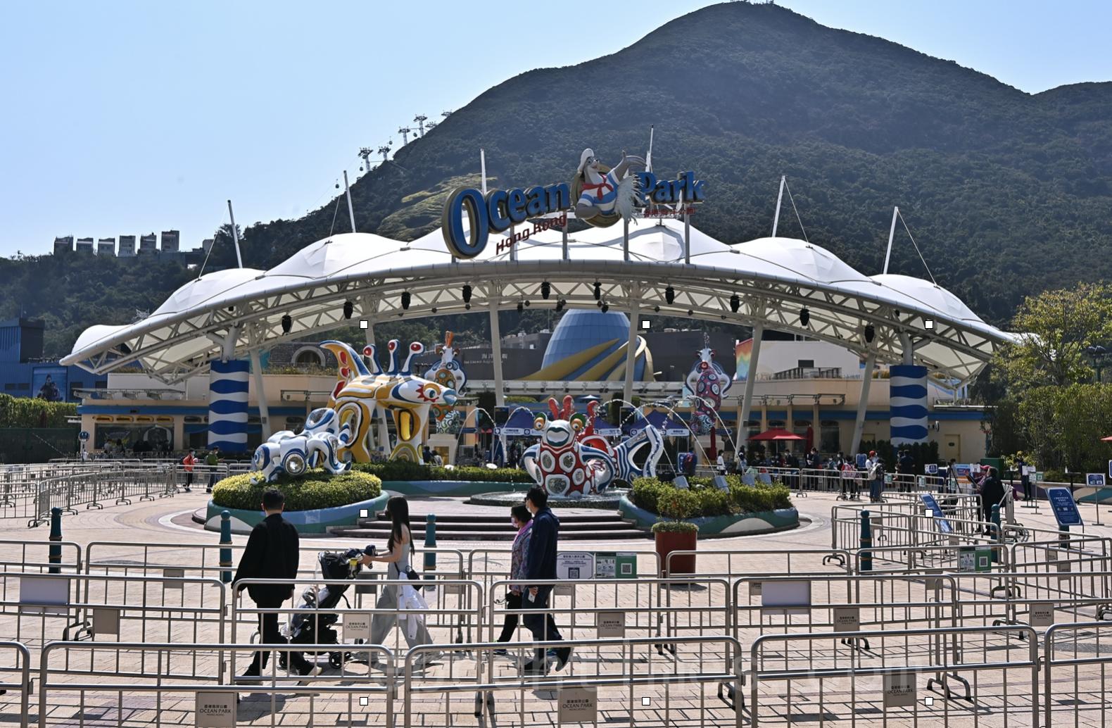 海洋公園和迪士尼今明開放(宋碧龍/大紀元)