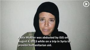 慘遭IS殺害 美國人質穆勒被囚視像首度曝光